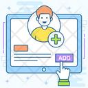 Add Person Add Profile Add Friend Icon