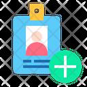 Add Identity Id Card Indentity Icon