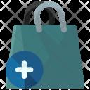 Add Shopping Bag Icon