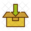 Add Things Open Box Open Parcel Icon