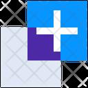 Add Layer Copy Design Icon