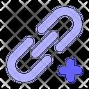 Add Link Backlink Link Icon