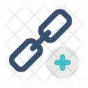 Add Link Chain Icon