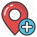 Add Location Map Icon