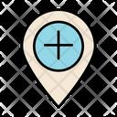Position Location Locate Icon