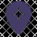 Add Location Location Pin Icon