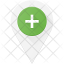 Add Pin Geolocation Icon