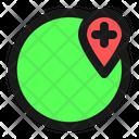 Add Location Add Globe Icon