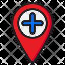 Add Location New Location Add Icon