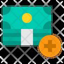 Money Cash Plus Icon