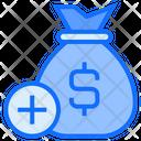 Add Money Add Moneybag Bag Icon