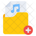 Add Music Folder Create Folder New Folder Icon