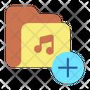 Ifolder Add Add Musicc Folder New Music Folder Icon