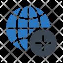 World Global Add Icon