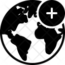Add Network Earth Icon