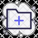 Add New New Folder Create Icon