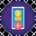 Iprepaid Top Up Add Online Money Add Money Icon