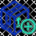Add Package Add Parcel Add Box Icon