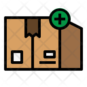 Add Package Delivery Logistic Icon