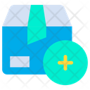 Add Box Add To Parcel Icon