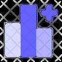 Add Panel Graph Chart Icon