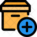 Add Parcel New Parcel Package Icon