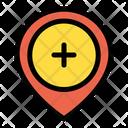 Add Location Add Pointer Add Point Icon