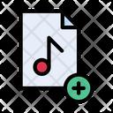 Music Add New Icon