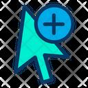 Add Arrow Cursor Icon