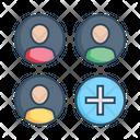 Add Profiles Add Users Add New User Icon