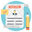 Add Resume Upload Icon