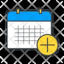 Add Schedule Calendar Date Icon