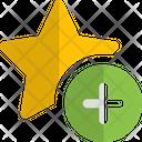 Add Star Icon