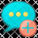 Add Talk Icon