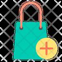 Add Add To Bag Shopping Bag Icon