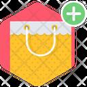 Bag Add Shopping Icon