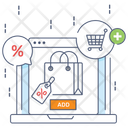 Add To Bag Shopping Bag Online Shopping Icon