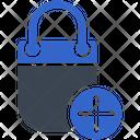 Add Bag Shopping Icon