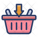 Add To Basket Shopping Basket Hamper Icon