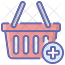 Add To Basket Add To Bucket Shopping Basket Icon