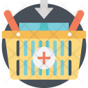 Shopping Basket Ecommerce Icon