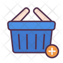 Basket Add Cart Icon