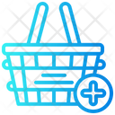 Add Basket Shopping Icon