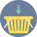 Add To Basket Shopping Basket Add Item Icon