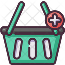Add To Basket Add Product Shopping Basket Icon