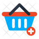 Add To Basket Add To Bucket Grocery Icon