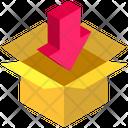 Logistics Delivery Arrow Icon