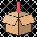 Parcel Box Delivery Icon