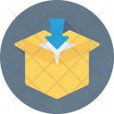 Add Box Shipment Icon