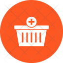 Add Basket Bucket Icon